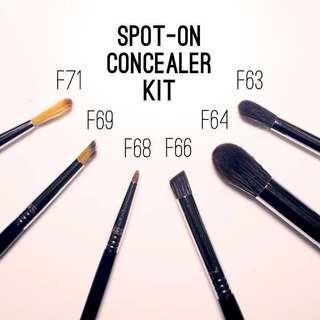 Sigma Spot On Concealer Brush Kit