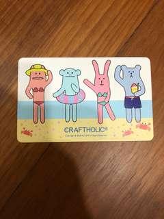 Limited Edition Craftholic Ez-link Card