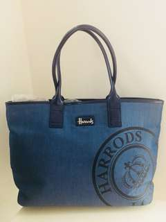 Authentic Harrods handbag (limited edition)