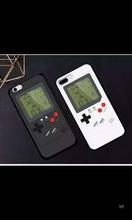 🚚 Iphone7/iphone8 可玩俄羅斯方塊遊戲機手機殼 黑色款