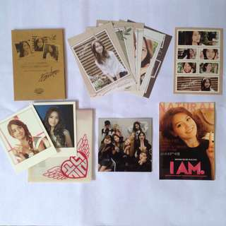 SNSD Yoona official photocard postcard polaroid photo card group card mr. Taxi thai version
