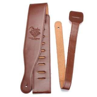 Brown Fender 60th diamond anniversary guitar strap