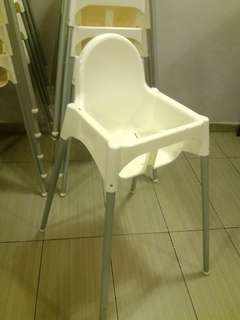 (SEREMBAN Area Only) Used Ikea Antilop Baby Chair without Tray
