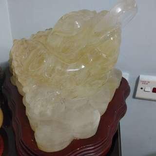 蟾蜍水晶-月亮石