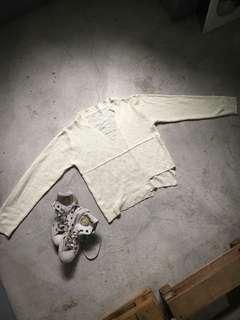 Sweater 15 - White Sweater