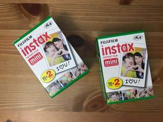 Instax instant film twin pack (mini)