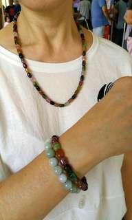 Tourmaline Bracelet & Necklace