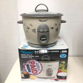 Toyomi Electric Rice Cooker