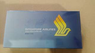 Singapore Airlines aircraft model