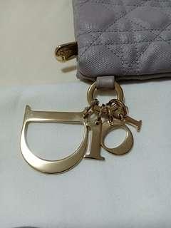 Dior Cannage Canvas Clutch