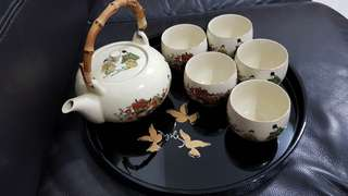 Brand new Japanese tea set