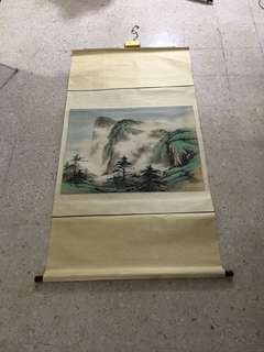 Chinese Ink Painting (Landscape)