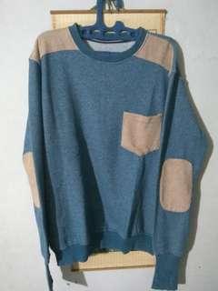 Sweater blue misty likenew