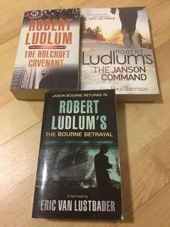 Robert Ludlum's Books
