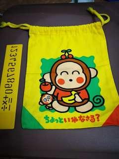 Monkichi 馬騮仔日本絕版1996年索袋