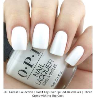 OPI Dont Cry Over Spilled Milkshake