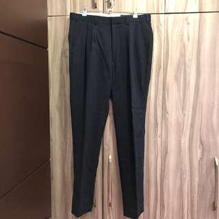 Mens navy blue suit pants size 34