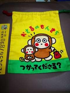 Monkichi 馬騮仔日本絕版1993年索袋(見說明)