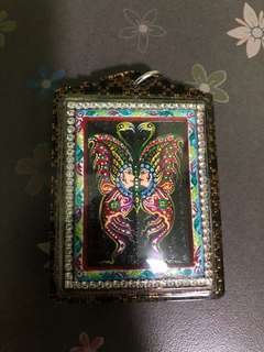 Kruba Krissana Butterfly Amulet Birthday batch limited