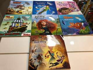 Disney English Story book with CD ROM, Children book, 迪士尼英文故事書連光碟,小朋友,故事書, Age 3 or up