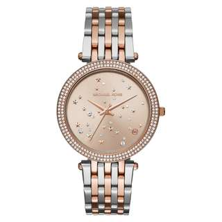 DARCI ROSE GOLD-TONE AND STAINLESS STEEL LADIES WATCH MK3726