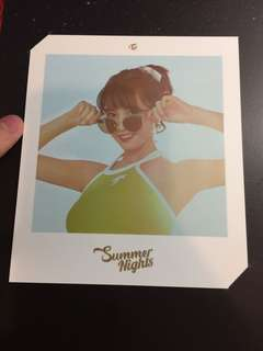 Twice Summer Nights Momo大卡