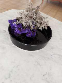 Black Ikebana Vase