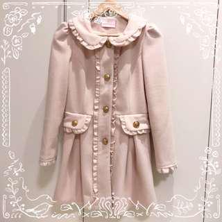 ୨୧⑅* Cream Beige Winter Coat ୨୧⑅*