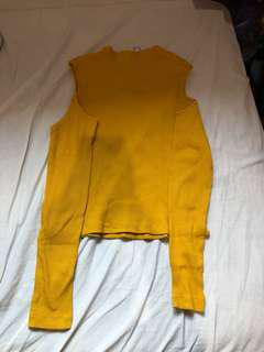 H&M Mustard Long Sleeve