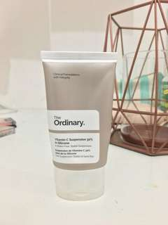 The ordinary vitamin c suspension 30%
