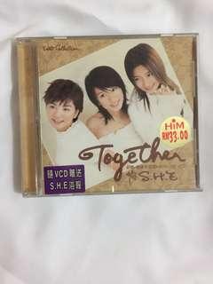 S.H.E Together 影音馆 VCD