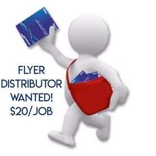Flyer Distribution // School Distributors Freelance  // $20 for 300 flyers