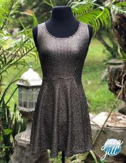 New Forever 21 Silver/Black dress