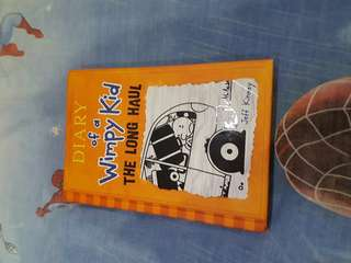 Buku impor diary of wimpy kid