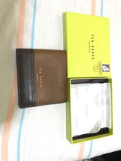 99% new Ted Baker wallet Original price 600
