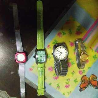 Authentic watches seiko invicta pastorella timex anne klein from US!!!