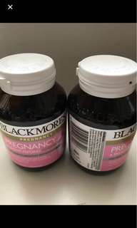 Blackmores pregnancy and breastfeeding supplement
