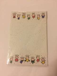 Sanrio vintage 大口仔 名信片 postcard 1991 八張