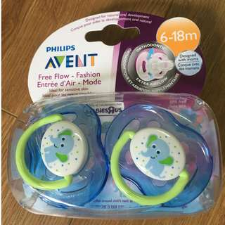 Avent Orthodontic Soother Pacifier 6-18 months