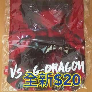 Vs x G-Dragon tote bag