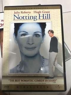 Noting hill dvd