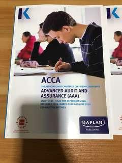 ACCA P7 Advanced Audit