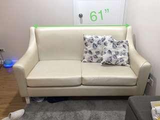 Modern condo sofa