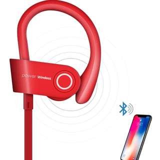 **掛耳式運動型無線藍牙耳機 (IOS / ANDROID 通用)**