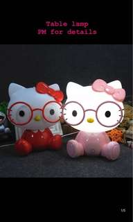 [PO] Hello Kitty Table Lamp