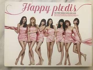 pledis happy 少女時代 twice exo FTIsland 絕版 99.9%全新