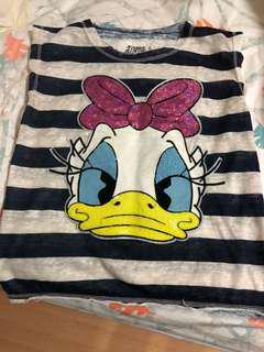 Donald Duck glitter tee