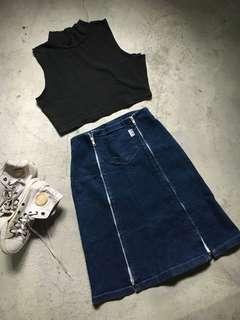 Skirt 3 - Denim Skirt Vintage