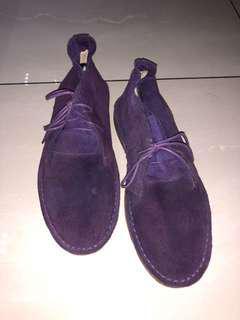 Purple Dessert boots