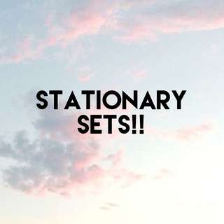 Stationary Sets